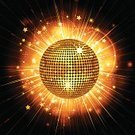 Disco Ball,Computer Graphic,Backgrounds,Illuminated,Lens Flare,Ilustration,Vector Backgrounds,Music,Vector,Glowing,Sphere,Bright,Arts And Entertainment,Dance,Eps10,Illustrations And Vector Art,Star Burst,Reflection,Party - Social Event,disco-ball,Shiny