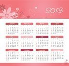 Calendar,2013,Month,February,March,October,Pink Color,Day,Vector,Week,365,Number 12,Personal Organizer,April,January,Time,Date,Backgrounds,Monthly,November,Vector Cartoons,Individuality,Wood Planer,chronological,Year,August,Grid,Plant,Simplicity,Ilustration,Fragility,Diary,June,Wednesday,July,December,Event,May,Flower,September,Illustrations And Vector Art,Computer Graphic