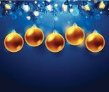 Christmas Ornament,Christmas Decoration,Christmas,Blue,Gold,Group of Objects,Gold Colored,Holiday,Decoration,Sphere,Glass - Material,Brightly Lit,Textured Effect,Modern,Bright,Cool,Christmas,Eps10,Vibrant Color,Design,No People,Computer Graphic,Vector Backgrounds,Colors,Vector,blue light,Heat - Temperature,Set,Gold Light,Holidays And Celebrations,Copy Space,Digitally Generated Image,Christmas Lights,Celebration,Reflection,Hanging,graphic elements,Textured,Horizontal,Design Element,Shiny,Softness,Illustrations And Vector Art,Defocused Light,Cold - Termperature,Holiday Backgrounds,Ilustration,Glowing