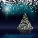 Christmas Lights,Christmas Card,Christmas Tree,White,Backgrounds,Fantasy,Christmas,Star Shape,Elegance,Illuminated,Tree,Blue,Abstract,Celebration,Design Element,Shiny,Season,Frost,Digitally Generated Image,Christmas Decoration,No People,Bright,Christmas Ornament,Vibrant Color,Copy Space,Computer Graphic,Holiday,Winter,December