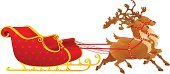 Sleigh,Christmas,Sled,Deer,Reindeer,Ornate,Ilustration,Computer Graphic,Indigenous Culture,Celebration,Winter,Bell,December,Decoration,Joy,Vector,Holiday,Design,Old-fashioned,White,Humor,Happiness,Cultures,Cheerful,Decor,Symbol,Season,Animal,editable