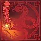 Snake,Chinese Zodiac Sign,Chinese New Year,2013,China - East Asia,Chinese Ethnicity,Igniting,Astrology Sign,Chinese Culture,Celebration,Cultures,Vibrant Color,Bright,Decor,oriental style,Animal,Red Background,Dynamite,Sparkler,Pyrotechnics,Big Bang,Frame,Backgrounds,Breaking,Exploding,Hanging,Viper,Flash,Red,Year Of The Snake,Traditional Festival,Decoration,spring festival