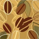 Coffee Bean,Bean,Espresso,Spice,Backgrounds,Pattern,Gourmet,Cappuccino,Ellipse,Growth,Freshness,Ilustration,Crop,Brown,Vector,Shape,Nature,Simplicity,Plant,Beige,Seasoning,Illustrations And Vector Art,Food And Drink,Color Image