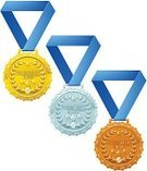 Gold Medal,Gold Colored,Gold,Medal,Award,Bronze,Silver Colored,Success,Silver - Metal,Bronze,Symbol,Vector,Ilustration,Shiny,First Place,Drawing - Art Product,Laurel Wreath,Set,Sport,Metal,Blue,Clip Art,Victory,Star Shape,Competition,Ribbon,Computer Icon,Winning