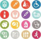 Bathroom Scale,Weight Scale,Computer Icon,Symbol,Insulin Pump,Medical Record,Injection Pen,Silverware,Laboratory Glassware,Set,Apple - Fruit,Capsule,Wheelchair,Stethoscope,Sport Icon,Vial,Physical Impairment,Blood Glucose Meter,Pill,Vector,Digital Thermometer,Panic Button