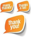 Thank You,Speech Bubble,Gratitude,Symbol,Vector,Label,you,Shadow,Note,Group of Objects,Discussion,Remote,Communication,Paper,Design Element,Thanks A Lot,Set,Message,Ilustration