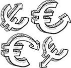 Euro Symbol,European Union Currency,Currency,Isolated,Growth,Recession,Deterioration,Business,Comparison,economic growth,Reduction,Currency Markets,International Currency,Wealth,Drawing - Art Product,Doodle,Vector,Finance,devaluation,world economy,Sketch,Ilustration,Trading,Exchange Rate,Inflation,Currency Symbol