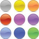 Blue,Push Button,Button,Interface Icons,Purple,Red,Pink Color,Yellow,Green Color,Frame,Shiny,Circle,Gray,Orange Color,Shield,Plastic,Sign,Isolated,Circle Frame,Web Page,Picture Frame,Riot Shield,Ilustration,Vector,Frame