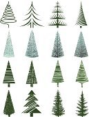 Pine Tree,Fir Tree,Christmas,Christmas Tree,Tree,Christmas Decoration,Sketch,Dirty,Grunge,Symbol,Abstract,Christmas Ornament,Ornate,Nature,Ilustration,Celebration,Pencil Drawing,Decoration,No People,Frozen,Scenics,Set,Cold - Termperature,Landscape,Drawing - Art Product