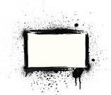Graffiti,Frame,Splattered,Spray,Ink,Backgrounds,Dirty,Box - Container,Grunge,Paint,Art Title,Black Color,Placard,Copy Space,Banner,Business,Blob,Rectangle,White,Sign,Black And White,Ilustration,Blank,Horizontal,No People,Empty,Art,Holiday,Urban Scene,Retail,Vector