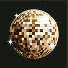 Disco Ball,Gold,Abstract,Mirrored Pattern,Vector,Circle,Elegance,Illuminated,Multi Colored,Reflection,Mirror,Computer Graphic,Glass - Material,Bright,Lighting Equipment,Shiny,Party - Social Event,Disco,Vibrant Color,No People,Nightclub,Ilustration,Exploding