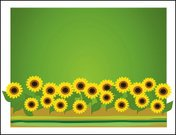 Sunflower,Flower Bed,Ornamental Garden,Formal Garden,Vector,Backgrounds,Summer,Flower Head,Flower,Landscape,Green Color,Creativity,Concepts And Ideas,Illustrations And Vector Art,Time,-,Outdoors,Beauty In Nature,Landscaped,Yellow,Decoration
