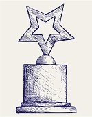Trophy,Star Shape,Abstract,Success,Medal,Fame,Outline,Engraved Image,Sketch,1940-1980 Retro-Styled Imagery,Pencil Drawing,Drawing - Art Product,Memorial Plaque,Competition,Art Product,Incentive,Hand-drawn,Drawing - Activity,Teen Pop,Art,freehand,Award,Design,Badge,Vector,Scroll Shape,Creativity,Achievement,Ilustration,Modern Rock,Scribble,Honor,Image,Sepia Toned,Doodle,Sign,Incomplete,Graffiti,Insignia,Computer Graphic,Handwriting,Rough