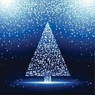 Christmas,Fete,Holiday,Black Color,Christmas Tree,Firework Display,Blue,Christmas Decoration,Shiny,Rain,Tree,Ilustration,Sparks,Falling,Light - Natural Phenomenon,Party - Social Event,Snow,Celebration,Star - Space,Blue Background,Exploding,Vector,Bright,Lighting Equipment,Star Shape,Decoration,Snowing,Luminosity