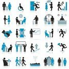 Symbol,Computer Icon,Men,People,Women,Group Of People,Icon Set,Business,Silhouette,Walking,Crowd,Occupation,Physical Impairment,Vector,Handshake,Briefcase,Discussion,Human Resources,Leaving,Event,Talking,Party - Social Event,Job - Religious Figure,Family,Meeting,Communication,Office Interior,Sign,Teamwork,Finance,Public Restroom,Global Business,Dining,Manager,Staircase,Corporate Business,Connection,Design,Gossip,Target,Garbage,Set,Businessman,Skate,Collection,Rejection,Death,Assistant