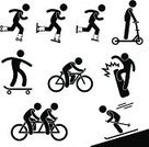 Symbol,Cycling,Bicycle,Action,Hobbies,Skateboarding,Sport,Indoors,Black Color,People,Ice-skating,Motor Scooter,Riding,Inline Skating,Riding,Mode of Transport,Skateboard,Silhouette,Roller Skate,Roller Skating,Skating,Inline Skate,Outdoors,Snowboarding,Road,Ice,Enjoyment,Men,Activity