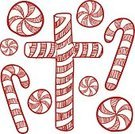 Peppermint,Ilustration,Mint,Striped,Candy Cane,Sugar,Crucifix,Circle,Candy,christmas candy,Twisted,Drawing - Art Product,Cross Shape,Vector,Christmas,Sweet Food,Isolated,Sticky,Spearmint,Swirl,Sketch,Doodle