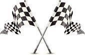 Go-Carting,Motocross,Checked,Flag,Sports Race,Crossing,Waving,Insignia,Ilustration,Vector,Rally Car Racing,Drive,Champ Car Racing,motorized,Sport,Black Color,Motion,Speed