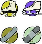 Roller Skate,Ice Skate,Ice-skating,Skateboard,Figure Skating,Ice,Shoe,Wheel,Sport,Vector,Olympic Mountains,Skateboarding,Blade,Xtreme,Number,Animal Foot,Sliding,Lace,Danger,Performance,The Human Body,Winter,Road,Street,Frozen,Ilustration,Leisure Activity,Relaxation Exercise,Actions,Poisonous Organism,Stunt,Illustrations And Vector Art,Sports And Fitness,Transportation,Sports Race,Competition,Recreational Pursuit,Shoelace,Exercising,Sidewalk,Fun,Speed,Asphalt,Mode of Transport