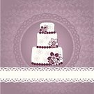 Cake,Ornate,Vector,Backgrounds,template,Greeting,Pattern,Greeting Card,Ilustration,Scrapbook,Postcard