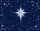 Star - Space,Star Shape,Christmas,Sky,Night,Shiny,Bright,Space,Light - Natural Phenomenon,Astronomy,Ilustration,Guidance,Dark,Color Image,Medicine And Science,Religion,Concepts And Ideas,No People,Horizontal,Star Of Christmas