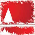 Christmas,Tree,Snow,Frame,Backgrounds,Modern,Christmas Decoration,Holiday,Red,Snowing,Vector,Elegance,Freshness,Falling,Art,Holidays And Celebrations,Christmas,Illustrations And Vector Art,Celebration,Ilustration,happy holiday