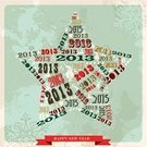 New Year,2013,Modern,Christmas,Single Word,Grunge,Star Shape,Star - Space,Happiness,Text,Backgrounds,Shape,Snowflake,Holly,Red,Number,Holiday,Retro Revival,Winter,Design,Vector,Celebration,Typescript,Ilustration,Christmas Paper