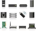 Network Server,Computer Icon,Symbol,Icon Set,Computer Network,Router,Data,Rack,Internet,Modem,Wireless Technology,Computer Part,Vector,Laptop,Network Connection Plug,Technology,Equipment,Connection
