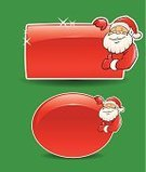 Santa Claus,Christmas,Banner,Backgrounds