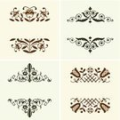Classical Style,Pattern,Decoration,Design Element,Set,Modern,Elegance,Vector,Ornate,Computer Graphic,Curve