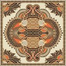 Paisley,Rug,Craft,Scarf,Symmetry,Bandana,Ornate,Carpet - Decor,Personal Accessory,Floral Pattern,Headscarf,Silk,Design,Handkerchief,Decor,Decoration,Square,Textile,Pattern,Square Shape