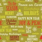 Christmas,Holiday,happy holidays,Single Word,Pattern,Repetition,Vector,Joy,Cheerful,Typescript,Winter,Design,Seamless,Backgrounds,Wrapping Paper,Peace On Earth,Black And White,holiday cheer,Green Color,Snowflake,Text,Ilustration,Greeting,Contrasts,Red