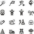 Symbol,Magic Wand,Teddy Bear,Car Seat,Child,Icon Set,Safety,Butterfly Net,Vector,Rocking Horse,Kite - Toy,Toy,Toddler,Playing,Potty,Birthday,Little Girls,Party - Social Event,Safety Pin,Party Horn Blower,Cute,Diaper Pin,Interface Icons,Set,Care,Isolated On White,Balloon,Fun,Miniature Train,Group Of People,Party Hat,Childhood,Leisure Games,Mushroom,Amanita Parcivolvata,Candy,Little Boys