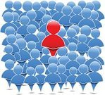 Symbol,Leadership,Computer Icon,Simplicity,People,Abstract,Group Of People,Crowd,Manager,Organized Group,Blue,Teamwork,Vector,Men,Design,Team,Ideas,Concepts,Community,Communication,Red
