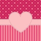Heart Shape,Vector,Retro Revival,Love,Backgrounds,Valentine's Day - Holiday,Pink Color,Purple,Red,Frame,Holiday