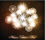 Firework Display,Vector,Ilustration,Valentine's Day - Holiday,Backgrounds,Abstract,Holiday