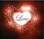Firework Display,Valentine's Day - Holiday,Heart Shape,Backgrounds,Abstract,Vector,Holiday,Ilustration