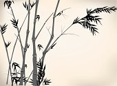 Bamboo,Japan,Vector,Ink,Fog,China - East Asia,Bush,Leaf,Plant,Decor,Forest,Asia,Art,Lucky Bamboo,Chinese Painting,East Asian Culture,Old,Chinese Culture,Cultures