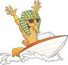 Speedboat,Fun,Journey,Enjoyment,The Past,Vacations,Sunglasses,Egypt,Ilustration,Travel Destinations,Holiday,boat trip,Isolated,Nautical Vessel,Travel,People Traveling,Vector,Tourism,Pharaoh
