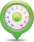 Thermometer,Instrument of Measurement,Scale,Heat - Temperature,Cold - Termperature,Computer Icon,Red,Pointer Stick,Map,Shadow,Design,Isolated,Set,Map Marker,Temperature,Circle,White,Green Color,Blue,Climate,Degree,Map Pin,Weather,Equipment,Winter,Single Object,Vector,Celsius,Distance Marker