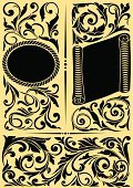 Engraved Image,Pattern,Design,Cartouche,filigree,Classical Style,Sign,Retro Revival,Scroll,Flourish,Old-fashioned,Majestic,Yellow,Angle,Sepia Toned,Corner,Ribbon,Luxury,Style,Floral Pattern,Vector,Symbol,Branch,Pastel Colored,Scroll,Banner,Funky,Spiral,Blank,Clip Art,Black Color,Rectangle,corbel,Scroll Shape,Copy Space,Flower,Elegance,Medieval,Antique,Corner,Shield,Insignia,Label,Abstract,Leaf