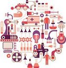 Laboratory,Healthcare And Medicine,Pharmaceutical Factory,Pharmacy,Manufacturing,Electric Fan,Technology,Industry,Factory,Science,Medicine,Circle,Computer,Montage,Scope Mouthwash,Vial,Chemistry,Vector,Abstract,Chemical,Capsule,Pill,Spirit Lamp,Pharmacy Store,Collage,Paramedic,Syringe,medical laboratory,Icon Set