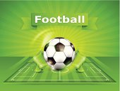 Soccer,Field,Backgrounds,Stadium,Play,Grass,Ilustration,Vector,Flag,Text,Football,Single Object,Leather,Outdoors,Lawn,Ball,Sport,Striped,Black Color,In A Row,Circle