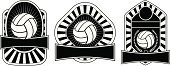 Volleyball - Sport,Ilustration,Sport,Insignia,Play,Leisure Games,Ball,template,Exercising,Design,Equipment,Toy