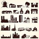 Greenhouse,Farmhouse,Church,Symbol,Town,Rural Scene,Outhouse,Outline,Apartment,Famous Place,Variation,Residential District,Ilustration,Tower,Mansion,Business,Dutch House,Construction Industry,Computer Graphic,Collection,Skyscraper,Roof,Architecture,Real Estate,Cultures,Vector