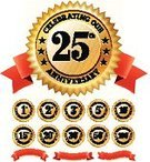 Anniversary,25-29 Years,20-24 Years,Seal - Stamp,Badge,20th Anniversary,Number 25,30th Anniversary,Celebration,30-34 Years,Year,100th Anniversary,50th Anniversary,Ribbon,One Year Anniversary,Business,Coin,Congratulating,Wedding Anniversary,Number,Red,Banner,Placard,Insignia,Gold Colored,Achievement,Gold,Vector,Star Shape,White Background,Number 3,Short Phrase,10th Anniversary,Collection,Circle,Group of Objects,Married,2 Year Anniversary,5th Anniversary,Sayings,Curve,Set