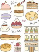 Macaroon,French Culture,France,Doodle,Store,Bakery,Symbol,Paris - France,Hot Chocolate,Baking,Baked,Cooking,Sketch,Pastry,Croissant,Coffee - Drink,Vector,Computer Icon,Tea - Hot Drink,Scribble,Heart Shape,Cake,Hand-drawn,Food,Outline,Chocolate Candy,hand drawn,Sweet Food,Line Art,Gourmet,Ilustration,Snack,Isolated,Hello,Dessert,Eclair,Swirl,Fruit,Blueberry,Tart,Chocolate,Pencil Drawing,Strawberry,Design Element,Drawing - Art Product,Sugar,Indulgence,Icing,Collection,Set,Sweet Bun