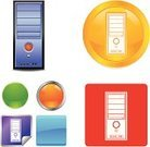 Yellow,White,Red,Circle,Rectangle,Label,Variation,Purple,Gray,Interface Icons,Clip Art,Drawing - Art Product,Shadow,Blue,Technology,Outline,Silver Colored,Shiny,Green Color,Square,CPU,vector icons,artline,Orange Color,White Background,Ilustration,Gold Colored,Bunch,Electrical Equipment,Computer,Vector,Icon Set