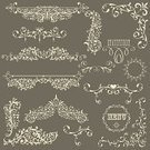 Ornate,Scroll Shape,Retro Revival,Frame,Old-fashioned,Heart Shape,Ilustration,Decoration,Pattern,Menu,Nature,Swirl,Design,Design Element,Floral Pattern,Abstract,Backgrounds,Creativity,Leaf,Computer Graphic,Plant,Flourish,Image,Invitation,Curled Up,Vector