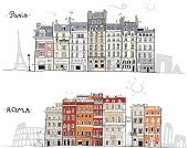 Paris - France,France,Ilustration,Drawing - Art Product,Construction Industry,Built Structure,Building Exterior,Pencil Drawing,Street,Urban Skyline,Rome - Italy,Wallpaper Pattern,Wallpaper,Eiffel Tower,Sketch,Cityscape,Window,European Culture,Design,Vector,House,Fountain,Home Interior,Backgrounds,Coliseum,Humor,Italy,Famous Place,Travel,Computer Icon,Doodle,Architecture,Waterfront,International Landmark,Romance,Symbol,Mediterranean Culture,Travel Destinations,Facade